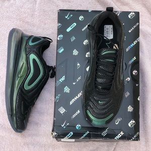 Nike Air Max 720 Metallic Men's Black Silver